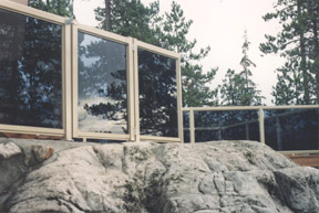 CHLOEYIU railing systems, Glass and Picket Aluminum Railing